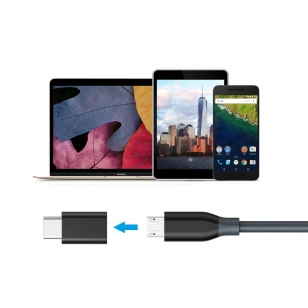 Micro USB naar USB-C 3.1 adapter