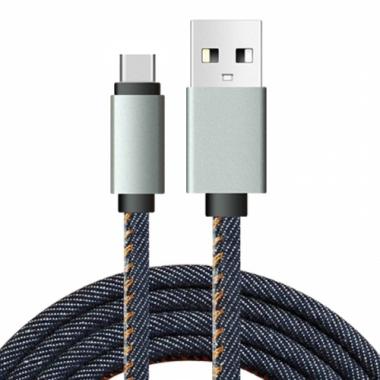 Jeans USB-C kabel 1 meter