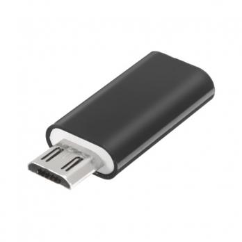 USB-C naar micro USB adapter zwart