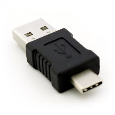 USB male naar USB-C male adapter