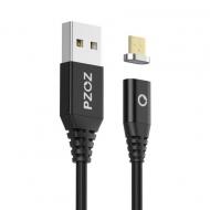 PZOZ micro USB kabel 2 meter met magnetische aansluiting
