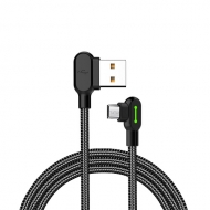 Mcdodo nylon haakse micro USB kabel 3 meter