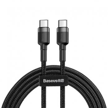 Baseus nylon USB-C naar USB-C PD kabel 50 centimeter