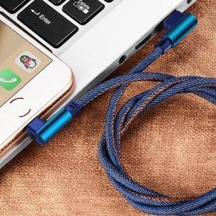 Jeans Lightning kabel haaks 2 meter