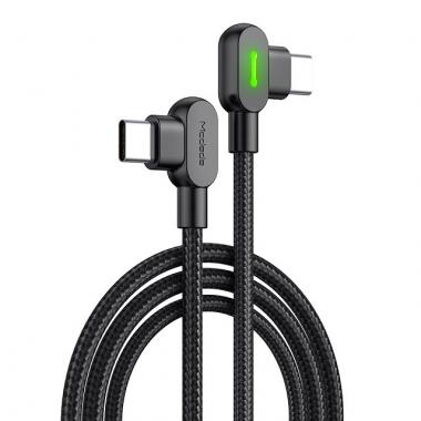 Mcdodo nylon haakse USB-C naar USB-C kabel 2 meter