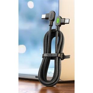 Mcdodo nylon haakse USB-C naar USB-C kabel 1,5 meter
